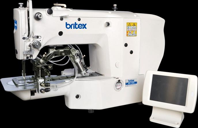 Electronic sewing machine Britex Special Machine - 1906