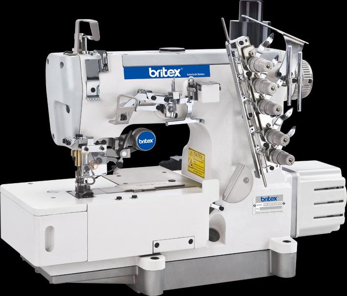 Electronic sewing machine Britex Interlock Flat-bed - 500-01CB-UT
