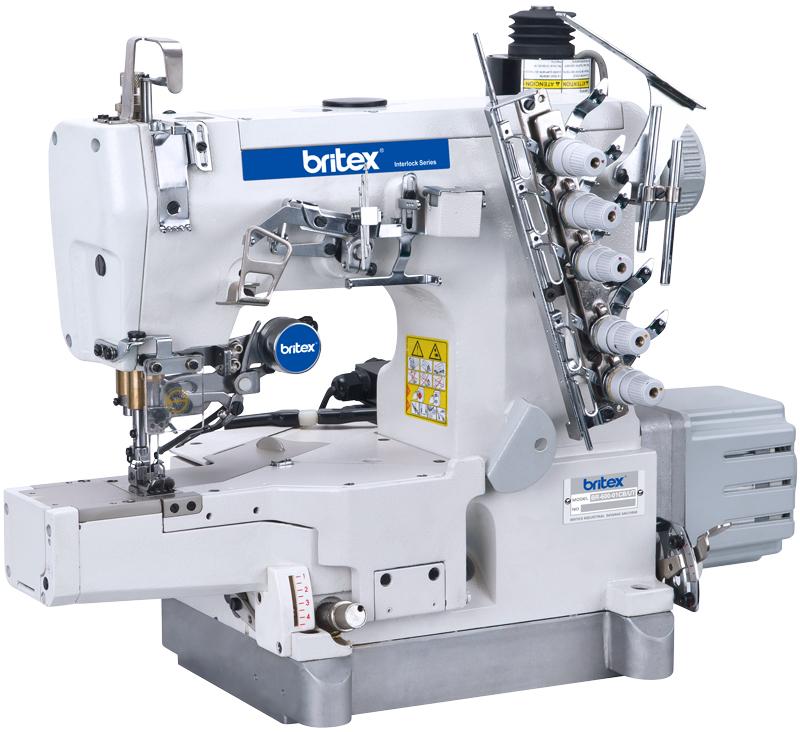 Máy may điện tử Britex Interlock Cylinder-bed - 600-01CB-UT