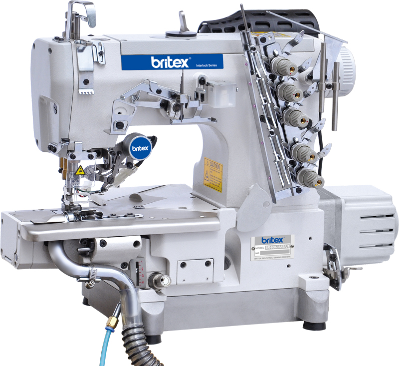 Máy may điện tử Britex Interlock Cylinder-bed - 600-35AB-UT