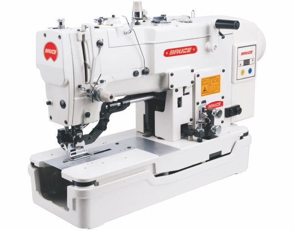 BRC-T781E Computer Flat Button Holing Machine