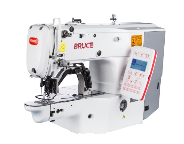 BRC-T1900G Electronic Bartacking / Button Attaching Machine