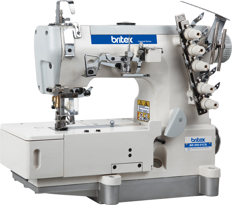 Electronic sewing machine Britex Interlock Flat-bed - 500-01CB