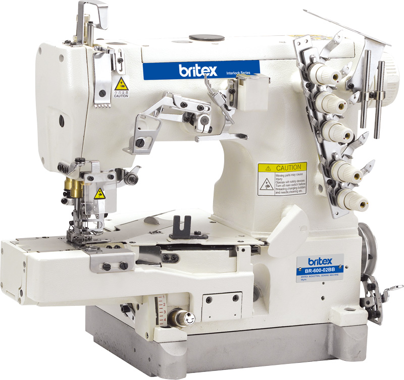 Electronic sewing machine Britex Interlock Cylinder-bed - 600-02BB