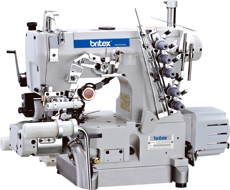 Electronic sewing machine Britex Interlock Cylinder-bed - 600-33AC-RP-UT