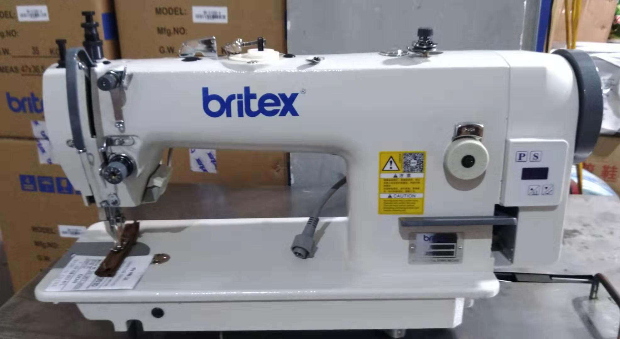 Máy may 01 kim ổ lớn chân vịt bước (Máy cào bơi) LIỀN TRỤC - Hiệu Britex, Model: BR-0303D