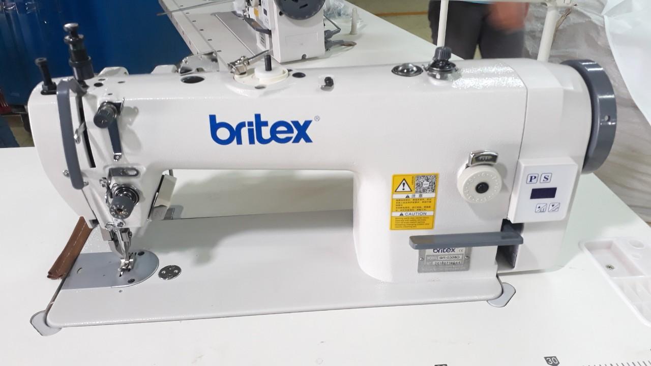 Máy 01 kim ổ lớn chân vịt bước (Cào bơi) LIỀN TRỤC - Hiệu Britex, Model: BR-0303D