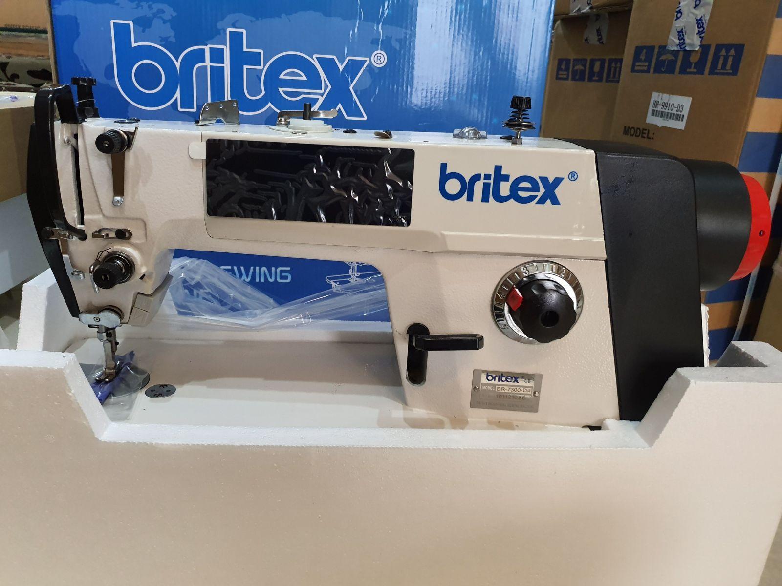 Máy may 01 kim điện tử, cắt chỉ tự động - Hiệu Britex, Model: BR-7300-D4