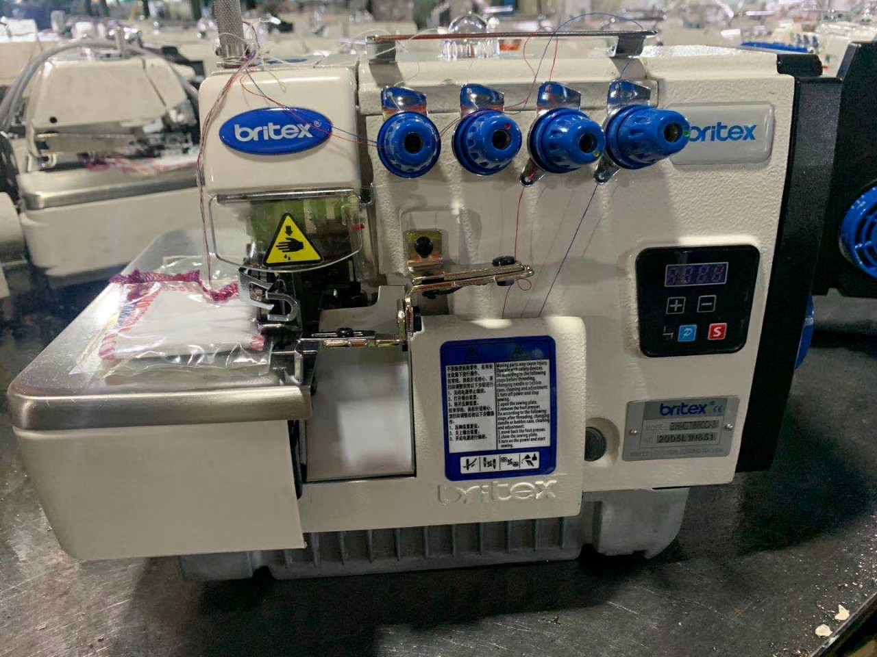 Electronic sewing machine Britex Overlock Stick - 700-4D - copy