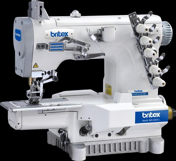 Electronic sewing machine Britex Interlock Cylinder-bed - C007J