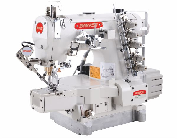 BRC-664BDII-UT High Speed Computerized Cylinder-bed Interlock Machine