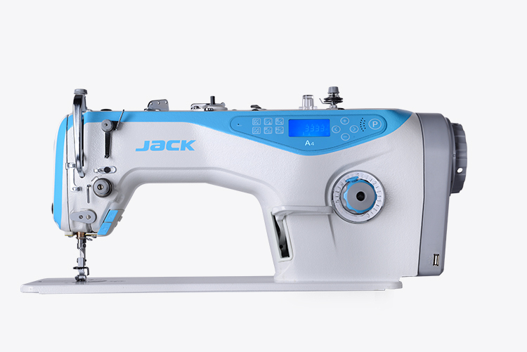 Máy may 01 kim điện tử, nâng chân vịt, cắt chỉ tự động - Model: A4 - Hiệu Jack