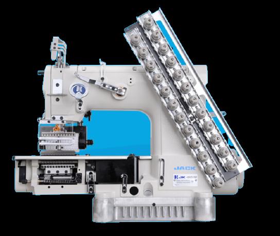 JK-8009VCDI Power-saving Multi-needle Machine
