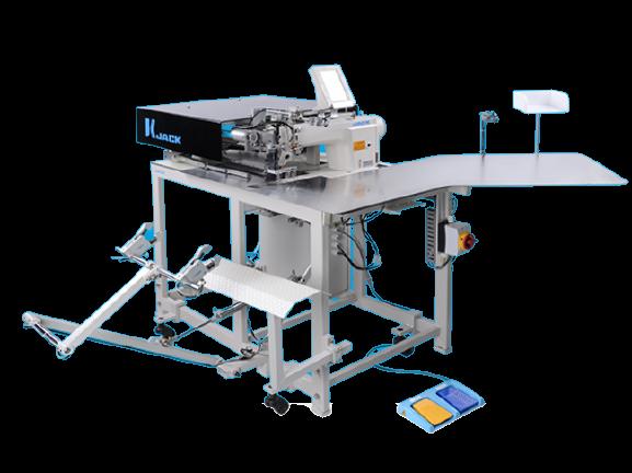 JK-T5878-58G Automatic Placket Setting Machine