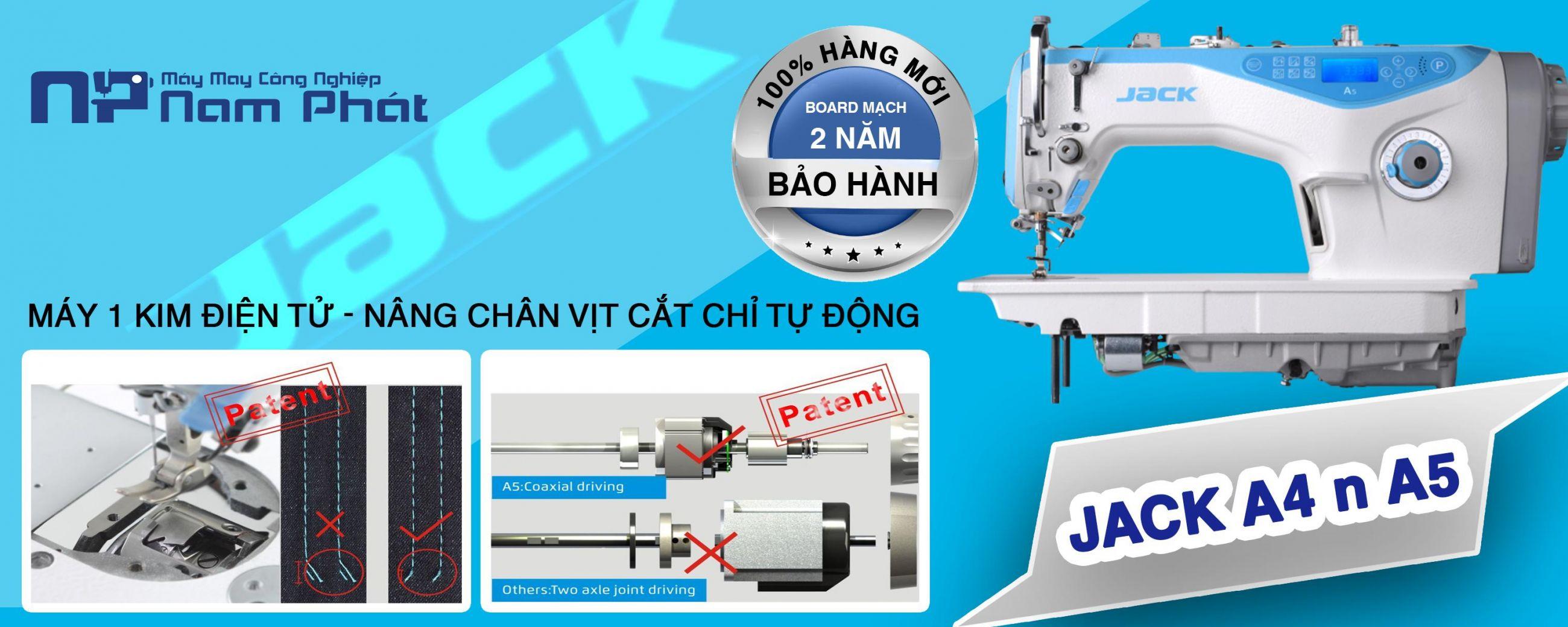 Máy 01 kim điện tử Jack - A5/A4
